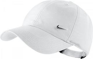 Dětská kšiltovka Nike Metal Swoosh 405043-100 bílá
