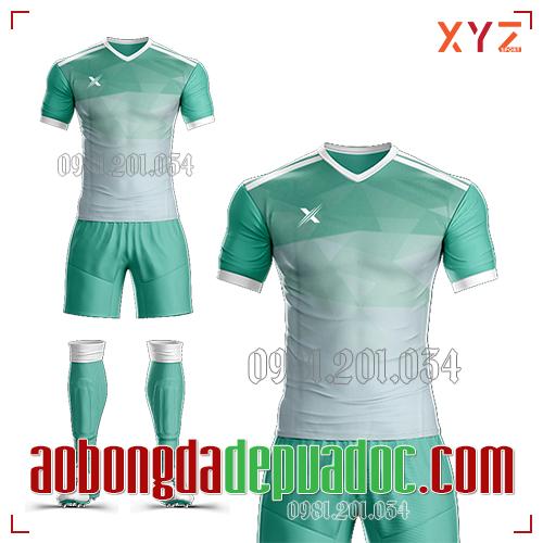 Áo Ko Logo XYZ-01 Màu Xanh Ngọc