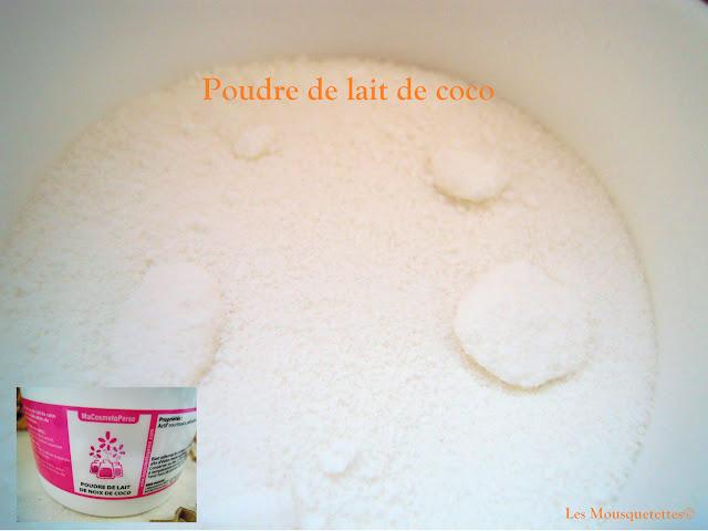 Poudre de lait de coco - Les Mousquetettes©