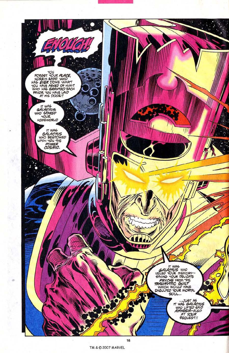 Read online Silver Surfer (1987) comic -  Issue #102 - 18