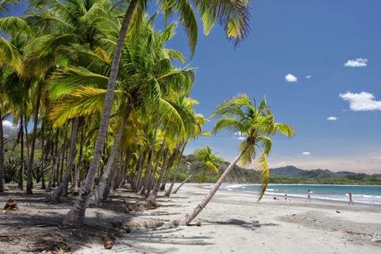 Playa de Samara en Costa Rica
