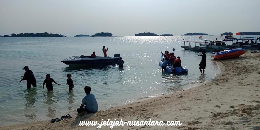 paket wisata open trip pulau harapan 2 hari 1 malam kepulauan seribu utara