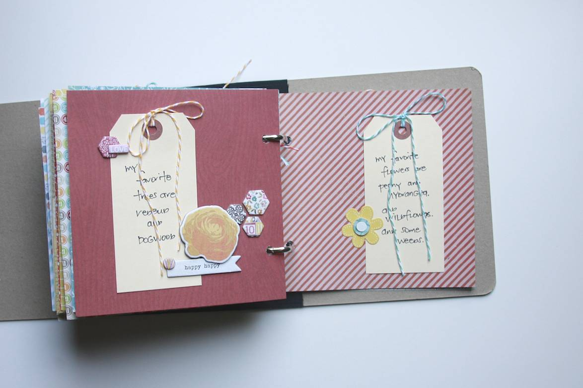 50 until 50 Lists Mini Album | iloveitallwithmonikawright.com