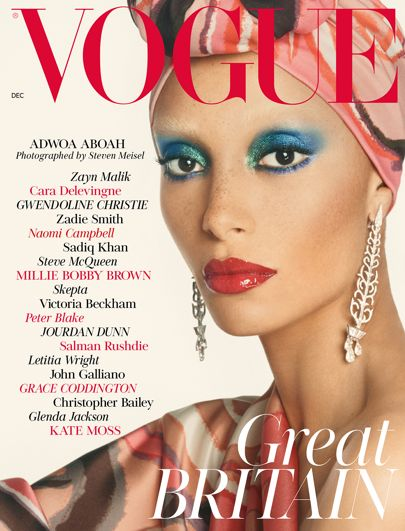 Edward Enninful unveils First British Vogue Cover featuring Adwoa Aboah