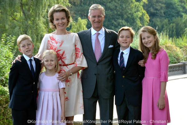 belgian royal family christmas card 2015 - Royal Family Christmas Card