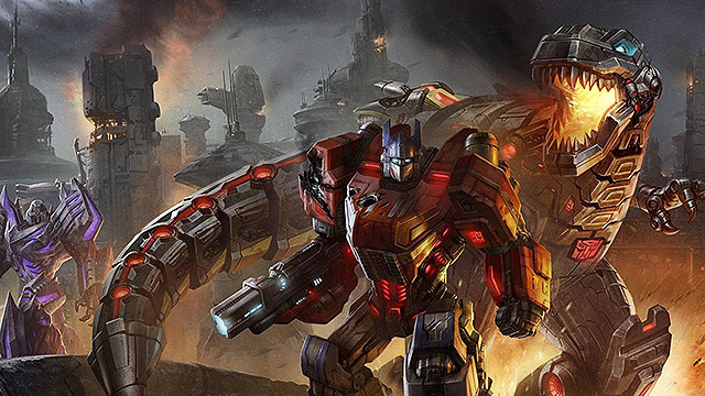 Transformers Fall Of Cybertron 4k Wallpaper Live Breathe Game
