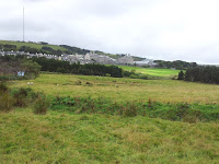 View towards Princetown and the prison
