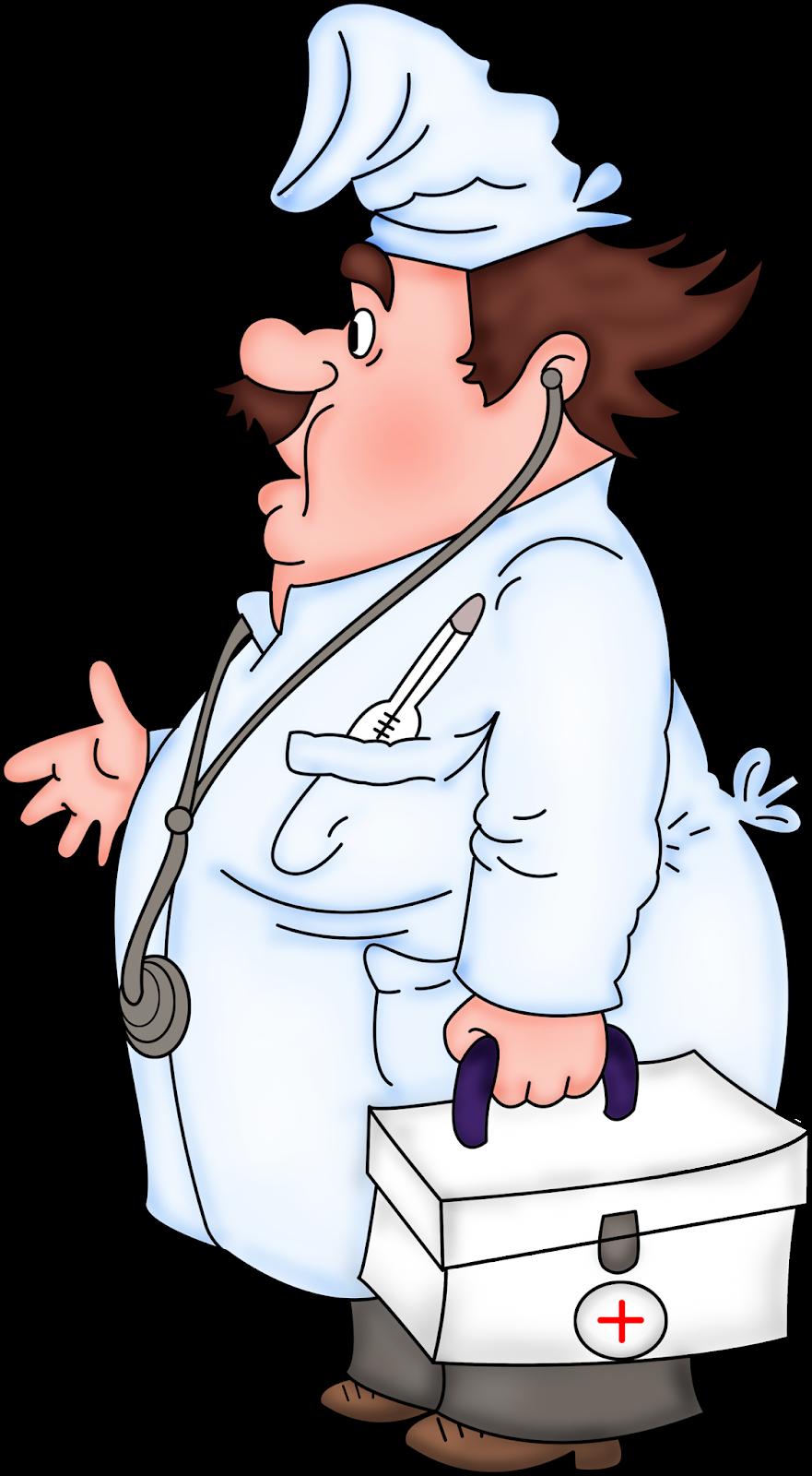 Доктор смешной рисунок
