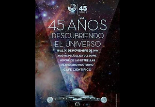 Planetario de Bogota cumple 45 años