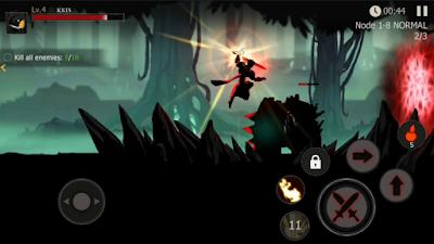 Shadow of Death: Dark Knight Fighting Apk Mod