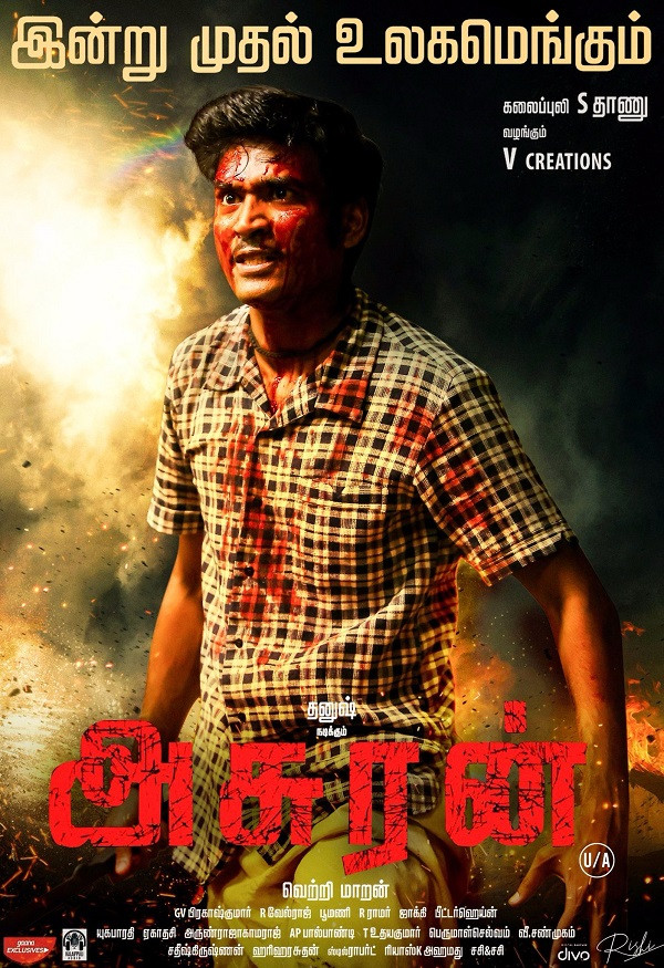 Asuran 2021 Hindi Dubbed 720p HDRip 700MB Download