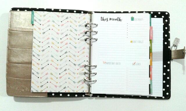Distribución mensual de la agenda