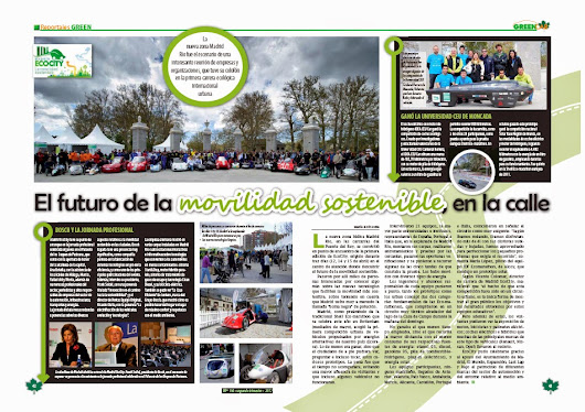 Madrid EcoCity 2012 en la Revista GREENCAR