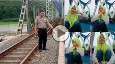 Detik-Detik Selfie Berujung Maut di Jembatan Kereta. Begini Kronologisnya ....