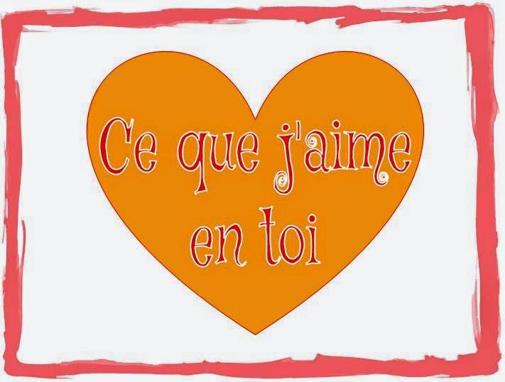 Le plus beau cœur d'amour, orange & romantique