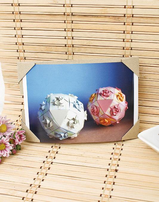 Como hacer un Marco de Fotos de Origami