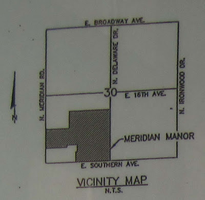 Meridian Manor Vicinity Map