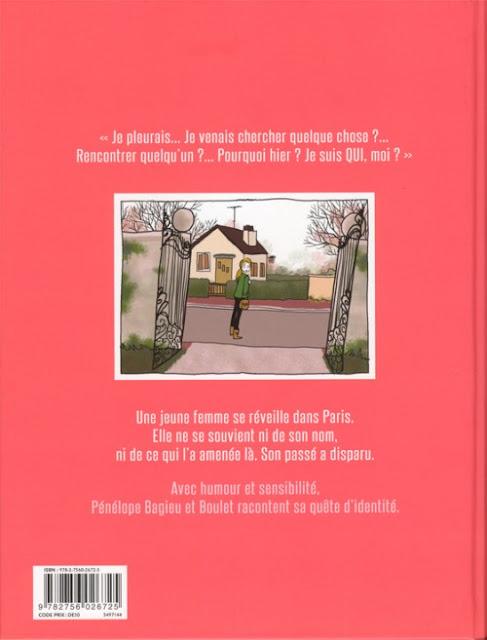La page blanche de Boulet et Pénélope Bagieu dos