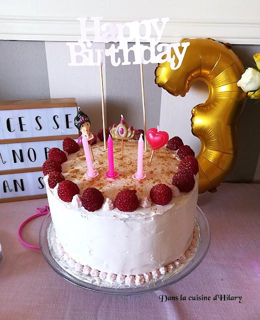 Gâteau damier de princesse - Dans la cuisine d'Hilary