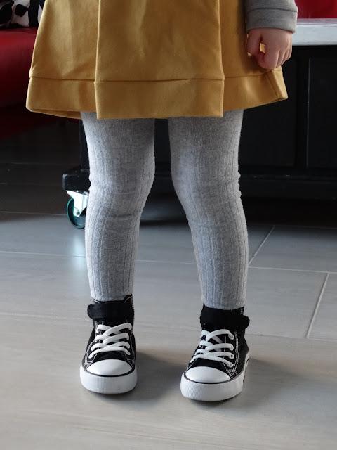 sukienka musztardowa dla dziewczynki 5