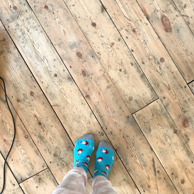 Rustic Victorian Floorboards
