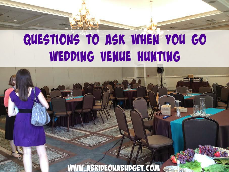 Questions To Ask When You Go Venue Hunting (It's A Long