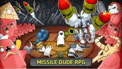 Missile Dude RPG: Tap Tap Missile Apk for Android Free Download
