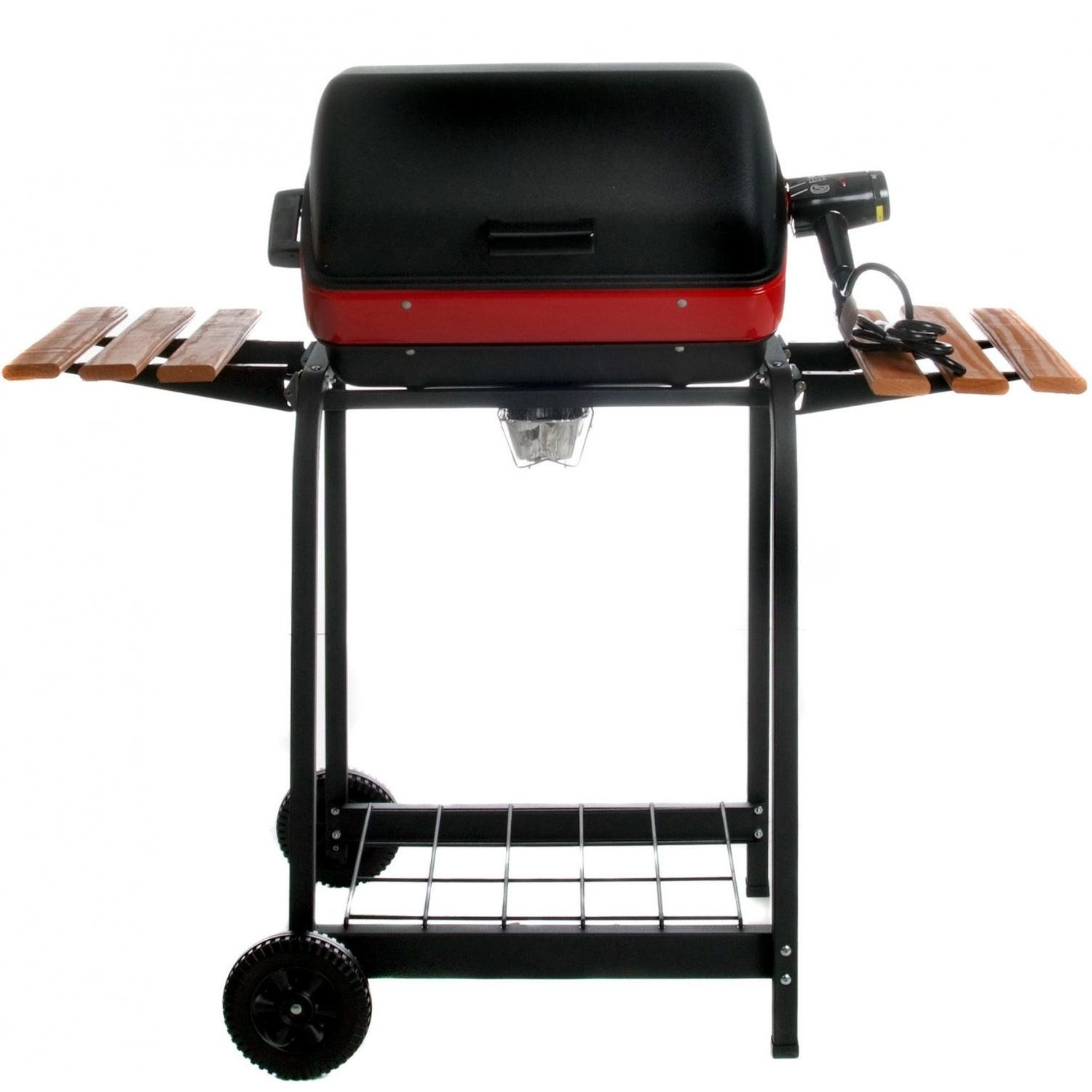 Electric Grill Outdoor Meco 9325 Deluxe Electric Cart