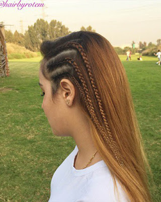 hairstyle braids trendy for teens