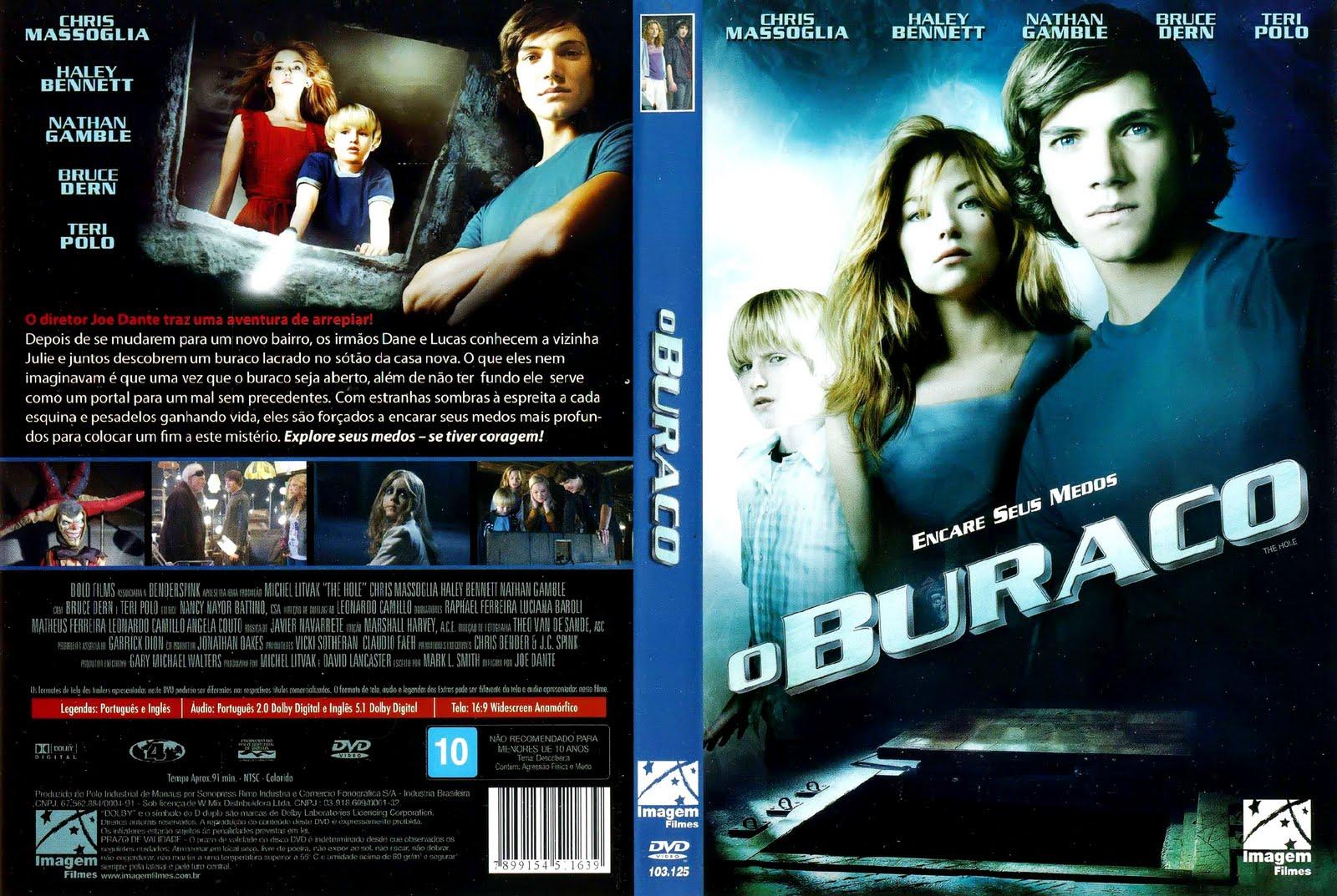 Capas Medina  Somente Capas de DVD O Buraco