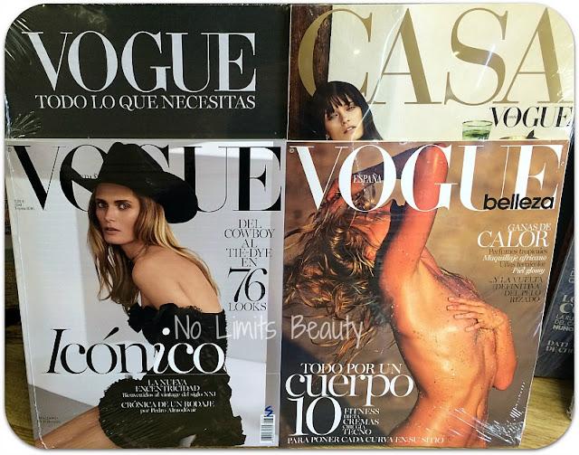 Regalos revistas Abril 2016: Vogue