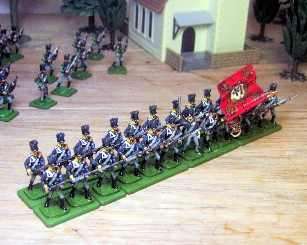 Hinton Hunt Prussian Line Infantry