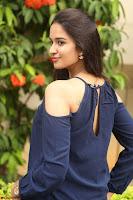 Poojita Super Cute Smile in Blue Top black Trousers at Darsakudu press meet ~ Celebrities Galleries 092.JPG