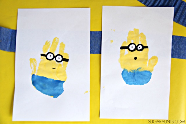 Minion Party with Crafts, Snacks, and Decor | The OT Toolbox