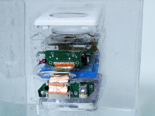 iPad encapsulado  con resina cristal