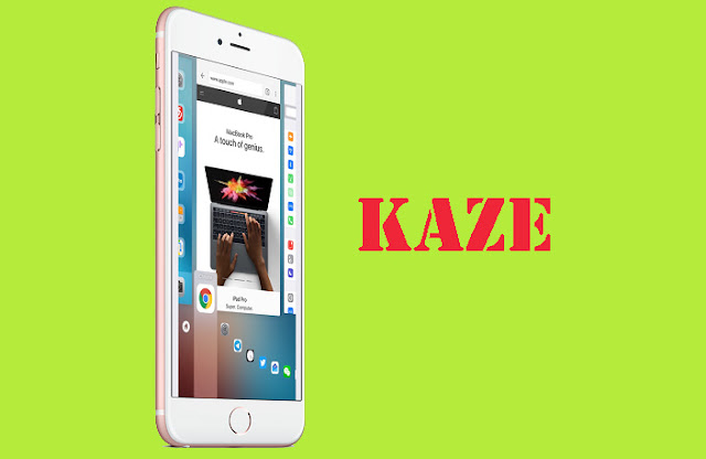 Kaze, a dynamic and powerful cydia tweak and best alternative to Auxo which allows an iPhone user to use app switcher in a redesigned way with Quick Switcher & Hot Corners