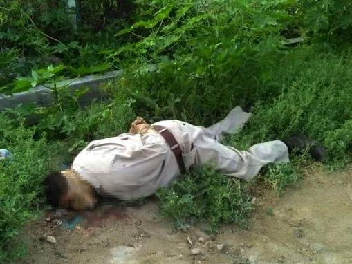 Hombre ejecutado en Tehuacán