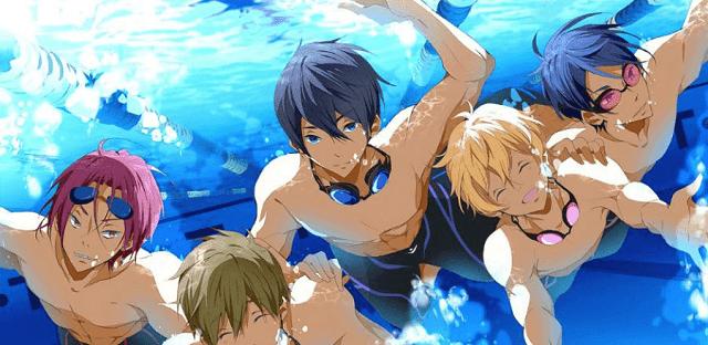 free adalah anime olahraga dengan tema renang