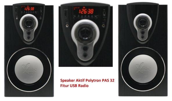 Daftar Speaker Aktif Polytron PAS Series Termurah