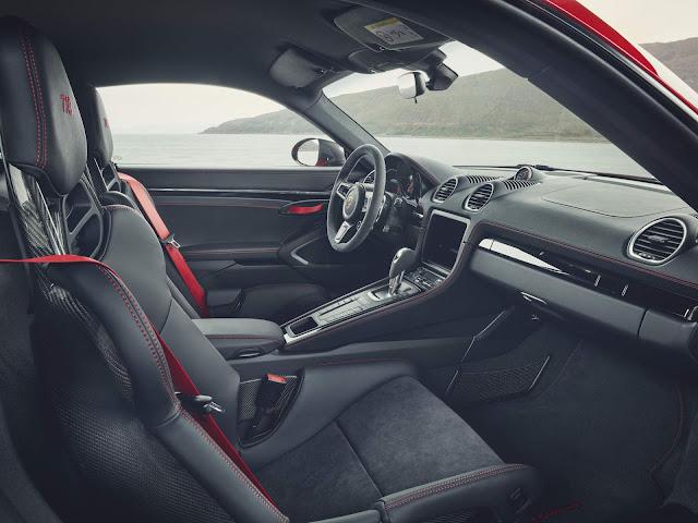 Porsche 718 T 2019 Cayman - interior