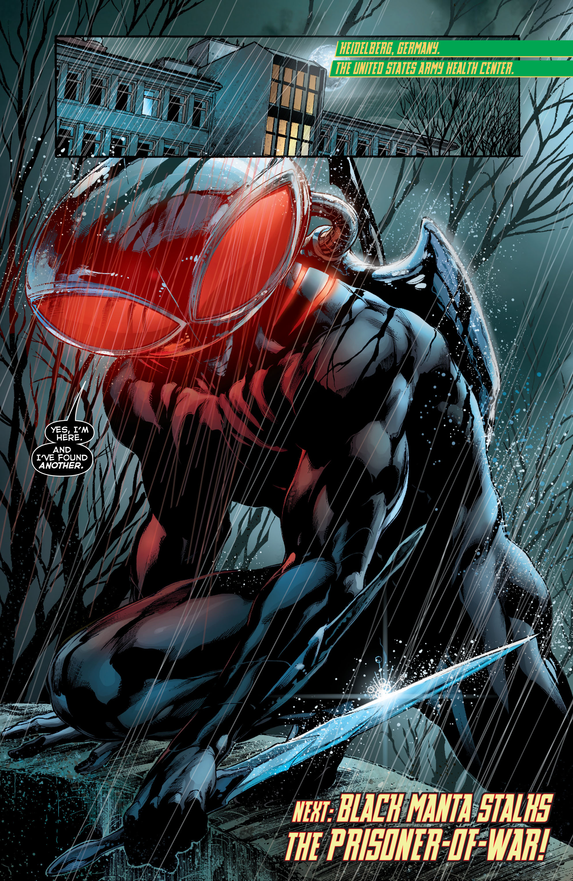 Read online Aquaman (2011) comic -  Issue #8 - 21
