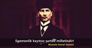 10 Kasım Atatürk'ü Anma Sözleri Resimli