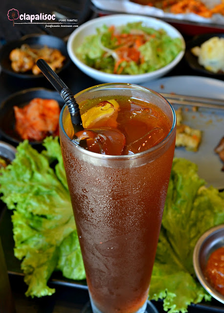 Soban Ice Tea from Soban K-Town Grill