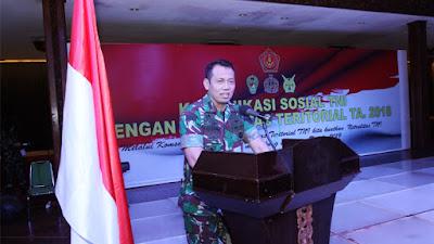 Teritorial Dapat Bantu Pemerintah Daerah Wujudkan Stabilitas Keamanan