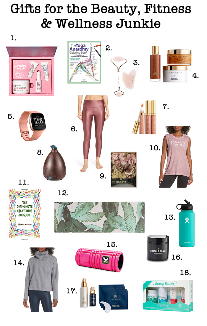 Gifts for the Beauty, Fitness & Wellness Junkie