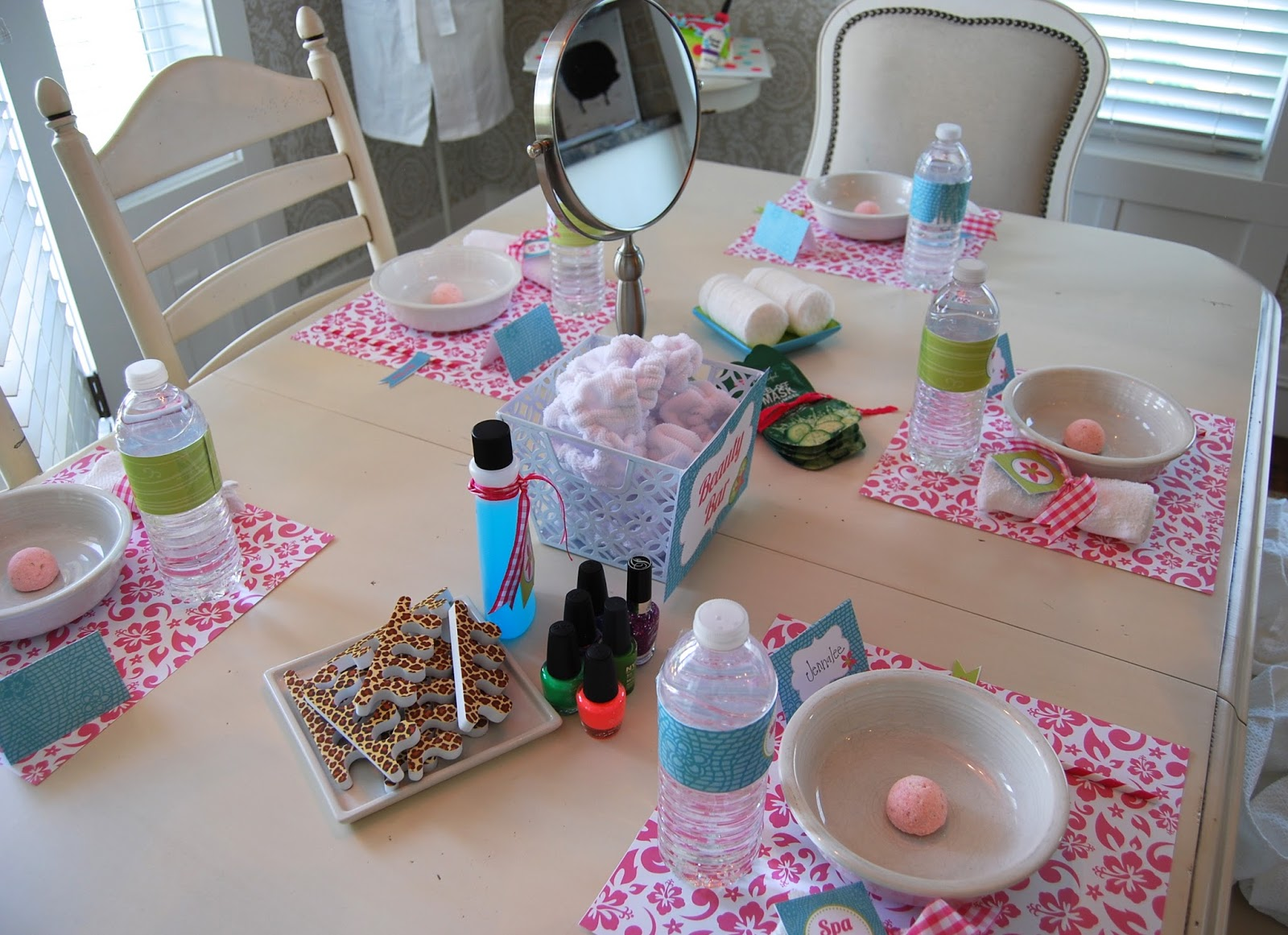 At Home Spa Party Ideas | Examples and Forms