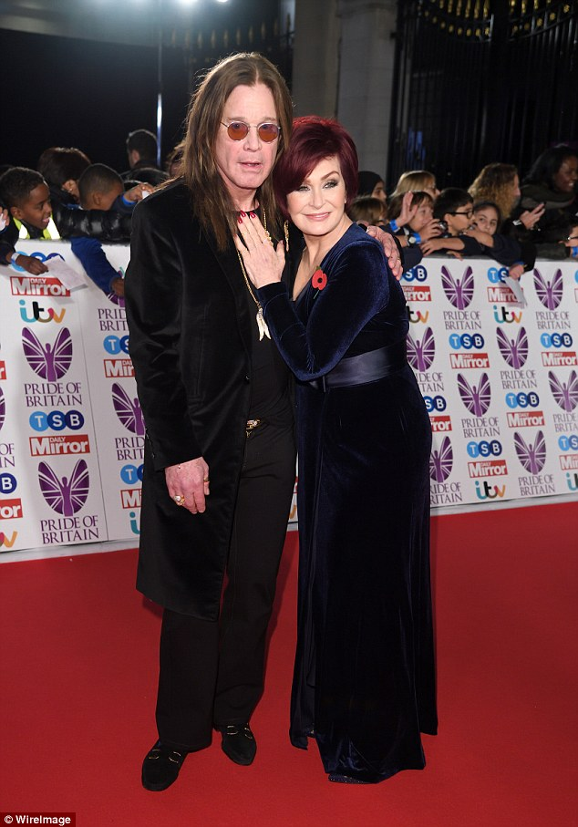 Sharon Osbourne says she only has sex with Ozzy on 'special occasions'
