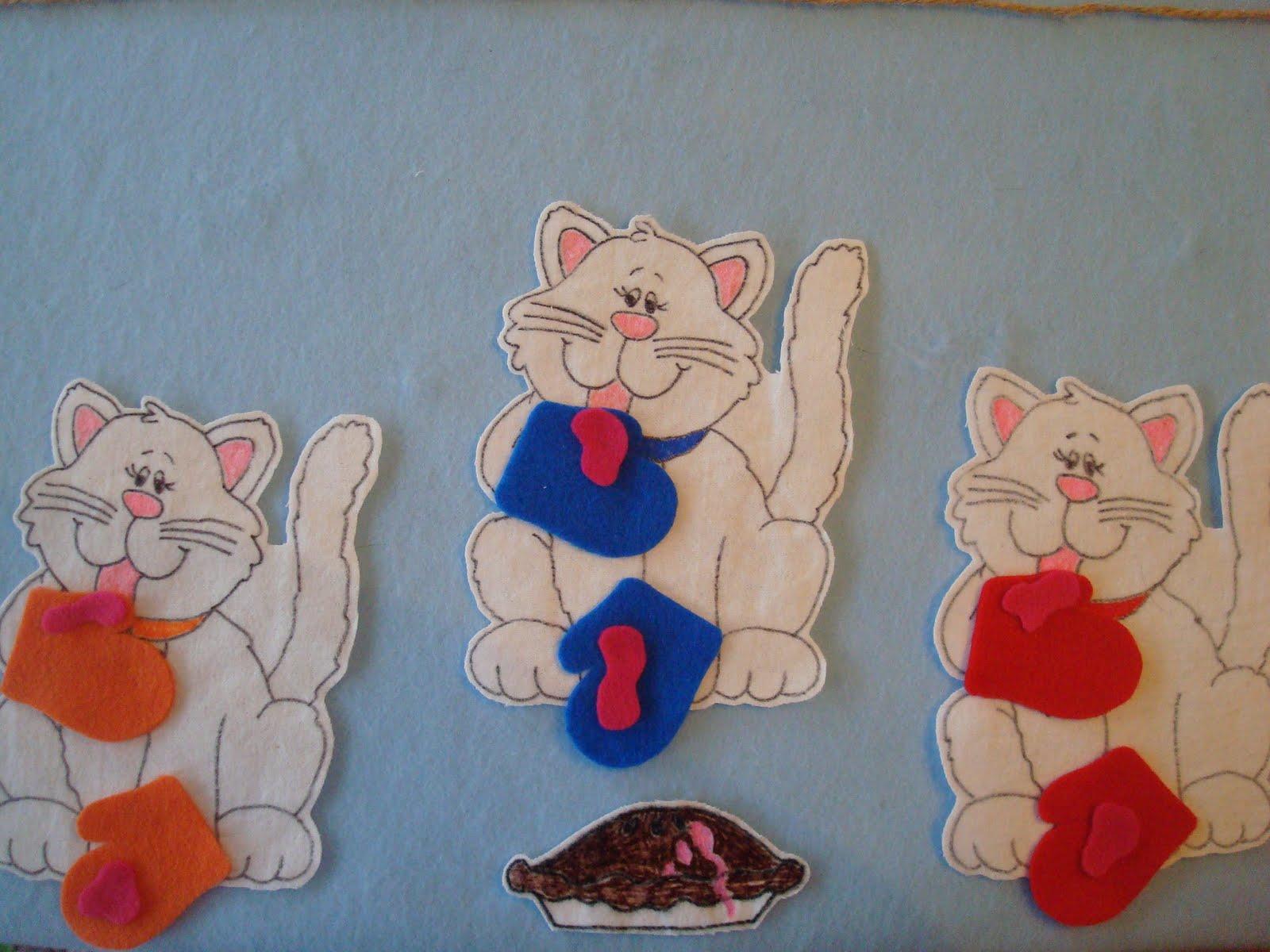 Miss Alison Is Blogging Three Little Kittens