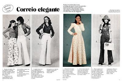 Moda anos 70. História década 70. moda feminina anos 70.