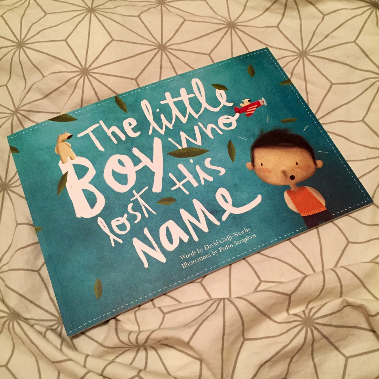 Hello Jack Blog - Reading Corner: The Little Boy Who Lost His Name + Giveaway
